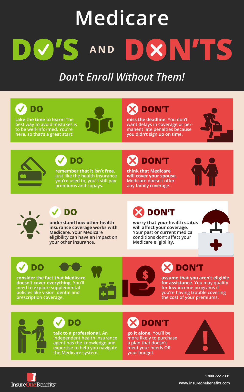 Medicare Do's and Don'ts: Don't Enroll Without Them! PDF Link